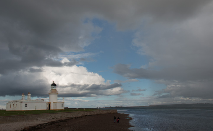 Leuchtturm am Point Chanonry
